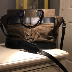 Rag and Bone pilot bag
